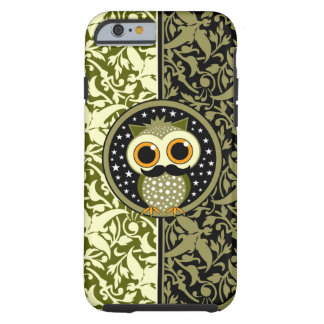 cute mustache owl iPhone 6 case