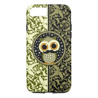cute mustache owl iPhone 7 case
