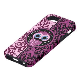 cute mustache owl iPhone SE/5/5s case