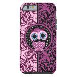cute mustache owl tough iPhone 6 case