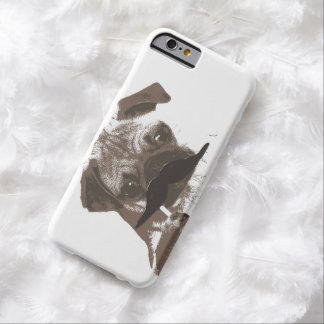 Cute Mustache Pug iPhone 6 Cases Barely There iPhone 6 Case
