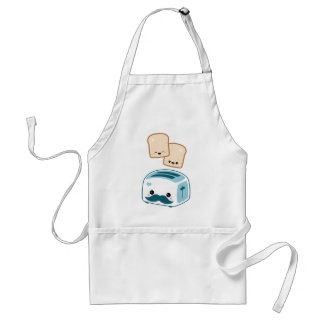 Cute Mustache Toaster Aprons