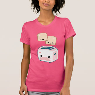 Cute Mustache Toaster Tshirts