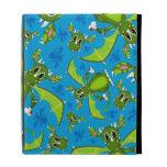 Cute Mystical Dragon Pattern iPad Folio Case
