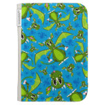 Cute Mystical Dragon Pattern Kindle Cover