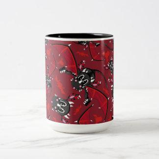Cute Mystical Dragon Pattern Two-Tone Coffee Mug