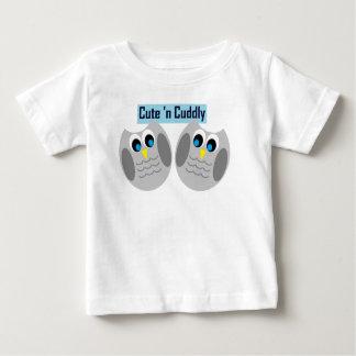 Cute 'n Cuddly Owls Baby T-Shirt