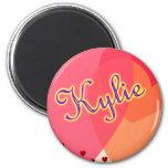 Cute Name Designs Fridge Magnets