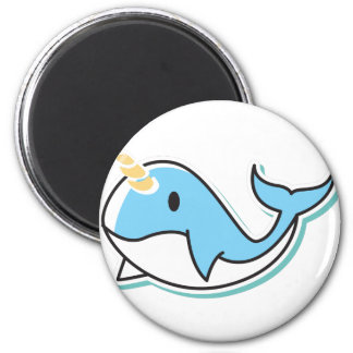 Cute Narwhal Magnet