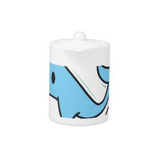 Cute Narwhal Teapot