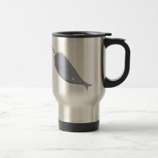 Cute Narwhal Travel Mug