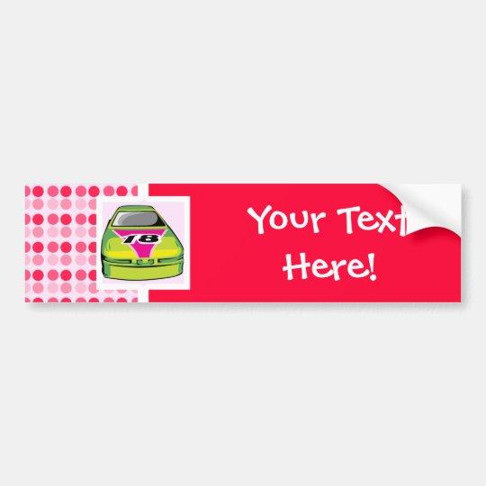 Cute Nascar Bumper Sticker