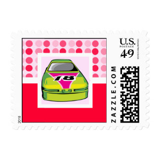 Cute Nascar Stamps