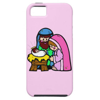 Cute Nativity Scene iPhone 5 Case