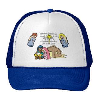 Cute Nativity Scene Trucker Hat