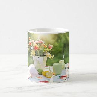 cute nature image with flowers coffee mug