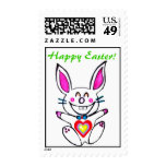 ♫☆♥Çütê Naughty Bunny HappyEaster Stamp๑¦☆♥♪ Postage Stamps