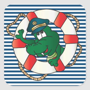 Cute Funny Captain Gator Gifts On Zazzle