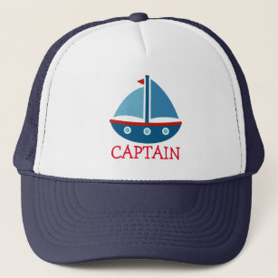 b229fb533a4b2 Cute nautical toy boat trucker hat for kids