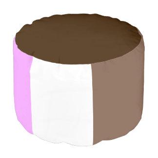 Cute Neapolitan Ice Cream Sandwich Pouf