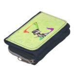 Cute Nerd Raccoon Monogram Z Wallets