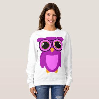 Cute Nerdy Owl Sweatshirt