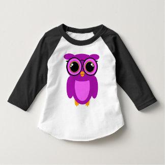 Cute Nerdy Owl Tee Shirt