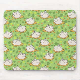 Cute Nested Chickens Pattern Mouse Pad