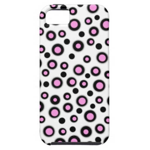 Cute New Pink & White Designer iPhone 5 Case Gift