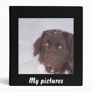 Cute newfoundland girl binder