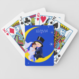 Cute Newlywed Customized Playing Cards