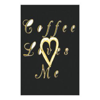Cute Nice and Lovely Coffee love me. Stationery