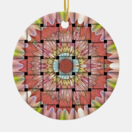 Cute Nice and Lovely Woven Design Ceramic Ornament