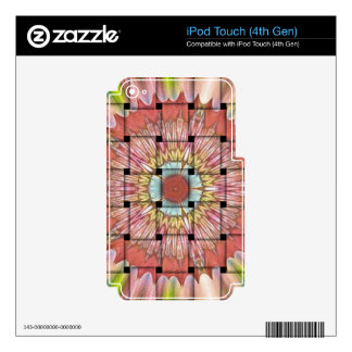 Cute Nice and Lovely Woven Design iPod Touch 4G Skin