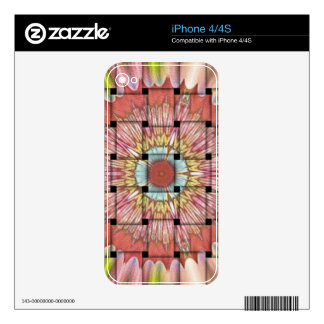 Cute Nice and Lovely Woven Design Skins For The iPhone 4
