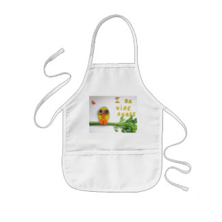 cute night owl apron (I am wide awake)