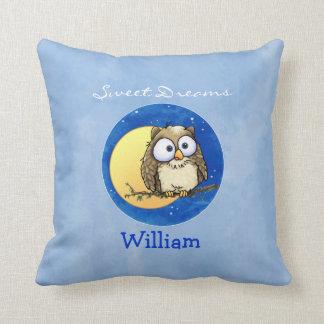 Cute Night Owl pillow