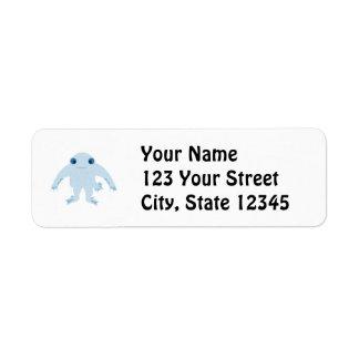 Cute Ningen Custom Return Address Labels