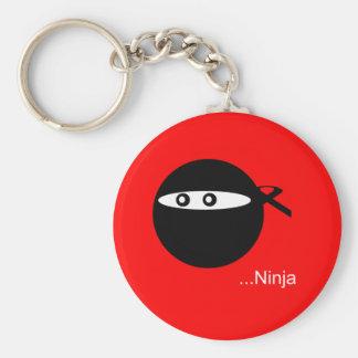 Cute Ninja Keychain