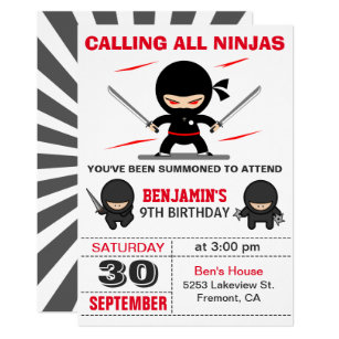 cute birthday invitations zazzle