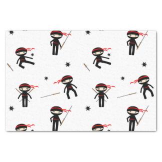 "Cute Ninjas 10"" X 15"" Tissue Paper"