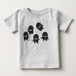 Cute Ninjas Baby T-Shirt