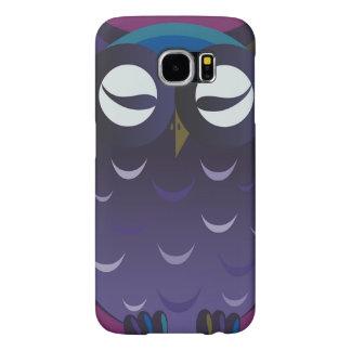 Cute Nite Owl SAMSUNG GALAXY S6 CASE