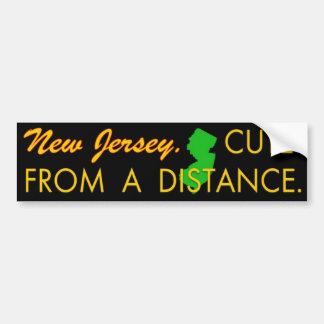 Cute NJ Car Bumper Sticker