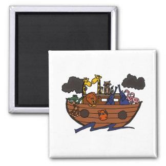 Cute Noah's Ark Cartoon Magnets
