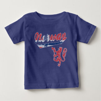 Cute Norway Sporty Style Baby T-Shirt
