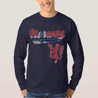Cute Norway Sporty Style T-Shirt