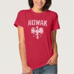 Cute Nowak Polish Eagle T-shirt