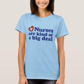 Cute Nurse Design T-Shirt