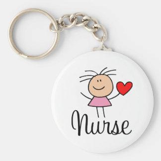 Cute Nurse Keychain